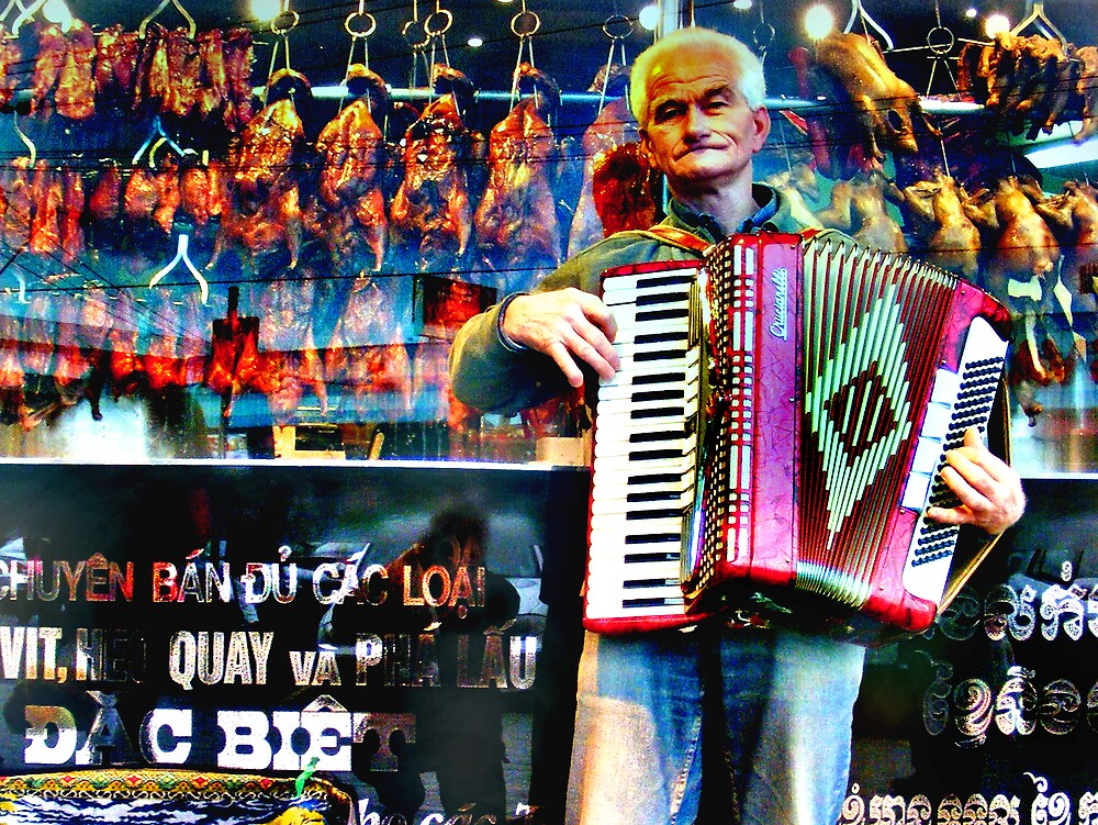 Dem Ol' Duck Accordion Blues by Bruce  Watson