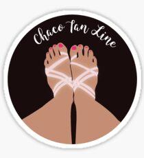 Chaco Tan Lines Script Sticker