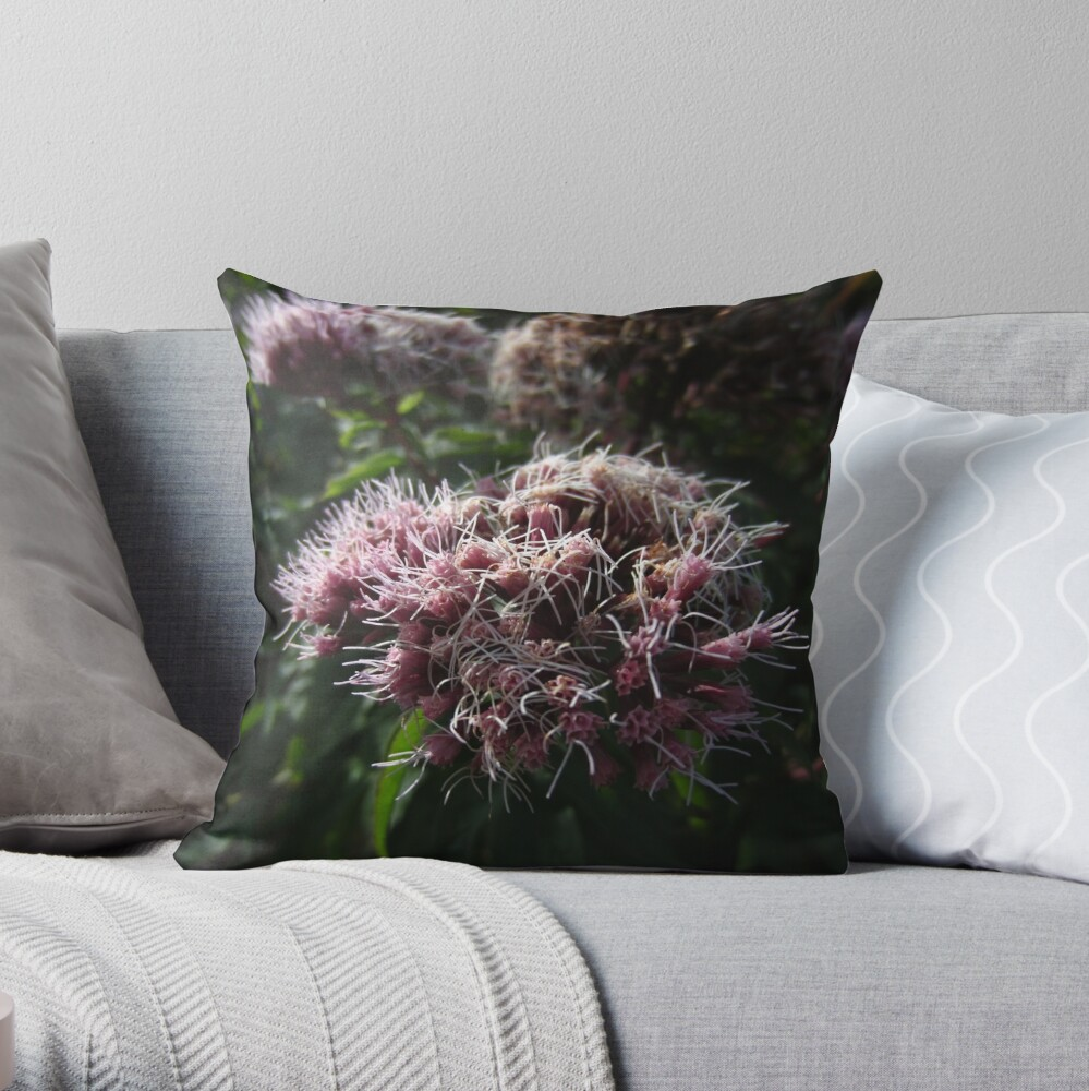 Hemp agrimony Throw Pillow