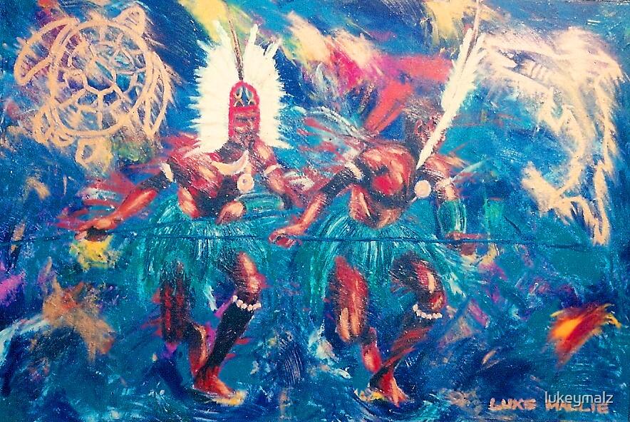 Warriors Dance by lukeymalz