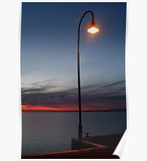 Portarlington Pier, Bellarine Peninsula Poster