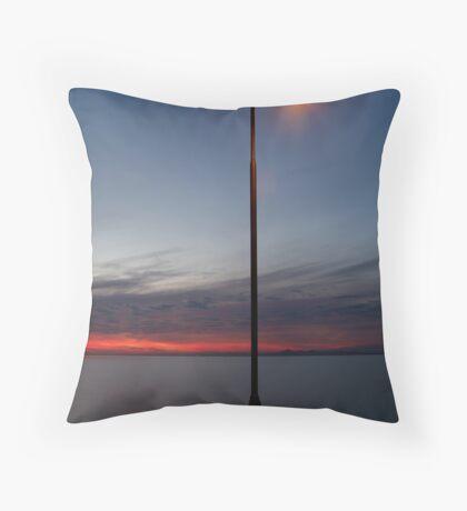 Portarlington Pier, Bellarine Peninsula Throw Pillow