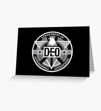 Department of Extranormal Operations Greeting Card