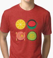 Wondercook Food Kitchen Pattern Tri-blend T-Shirt