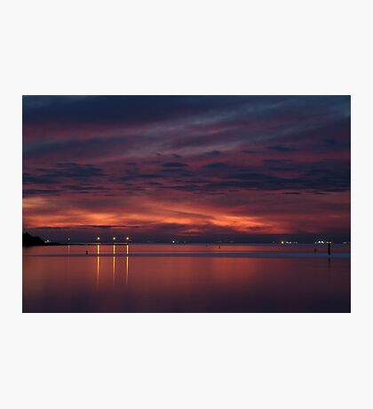 Corio Bay, Portarlington,Bellarine Peninsula Photographic Print