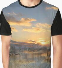 Reflections On Golden Pond Graphic T-Shirt