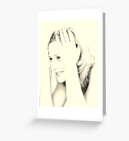 EYES & SMILE Greeting Card