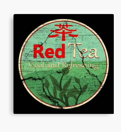Red Tea Canvas Print