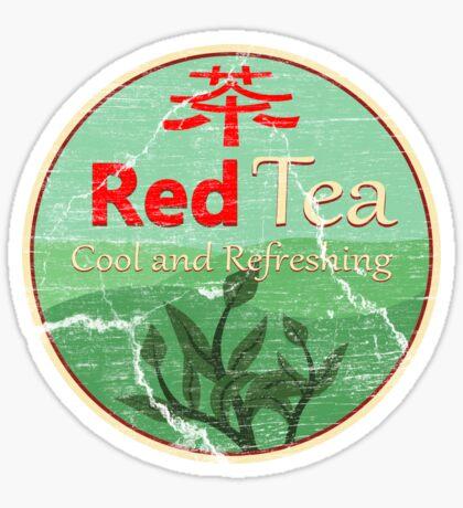 Red Tea Sticker