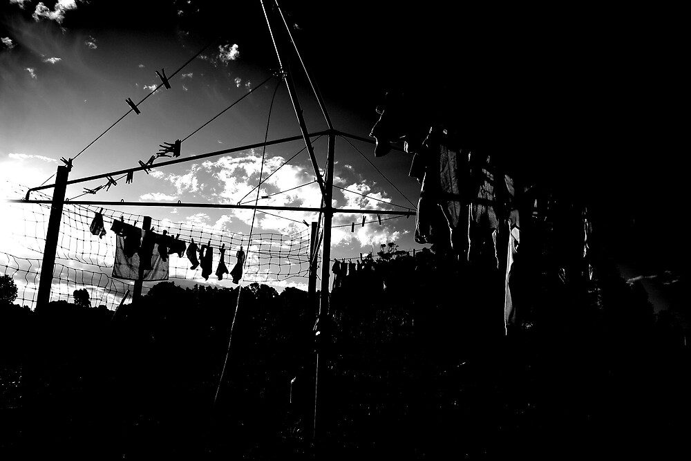 Clothesline by Andrew Edgar
