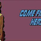 Find Your Heroes - Hunter & Druid by EmilyWatersArt
