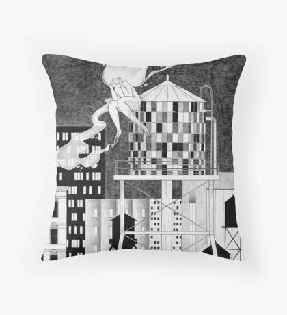 Night in NY Throw Pillow