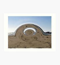 Swirrel Art Print