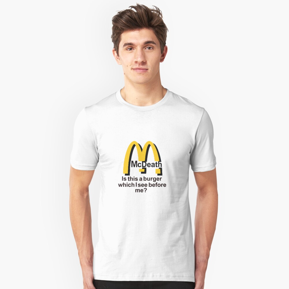 McDeath Unisex T-Shirt Front