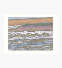 Colorful Sea Art Print