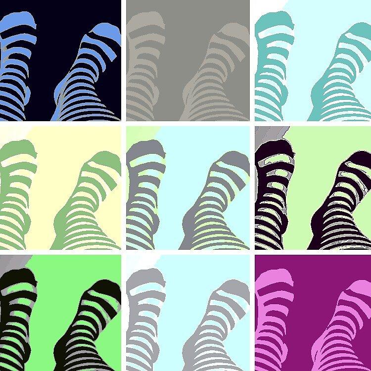 Stripey Feet by Princessbren2006