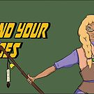 Find Your Heroes - Seer & Bard by EmilyWatersArt