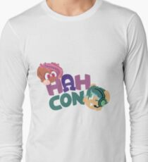 HAHcon with Cozy and Glitch T-Shirt