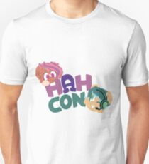 HAHcon with Cozy and Glitch Unisex T-Shirt