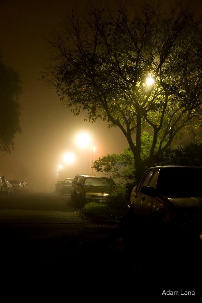 Foggy Nights 03 by Adam Lana