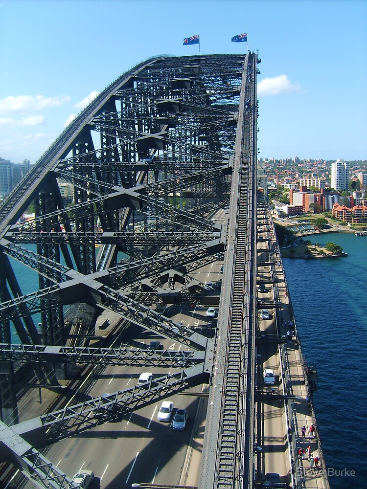 Sydney Harbour Bridge by Steve Burke