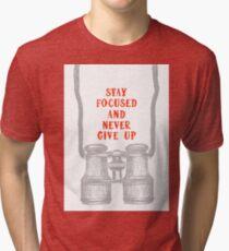 binoculars Tri-blend T-Shirt