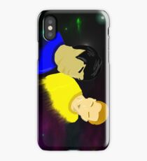Jim and Spock in Space iPhone Case/Skin
