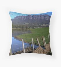 photoj Australia - Tasmania, Mt Roland Throw Pillow