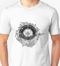 Compass and Whale T-Shirt