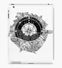 Compass and Whale iPad Case/Skin