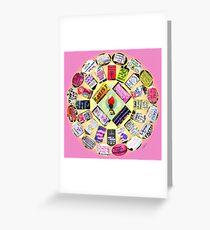 Resist Mandala Greeting Card
