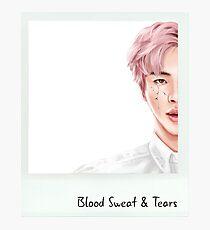 Jin - Blood Sweat & Tears Photographic Print