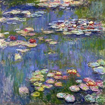 monet - water lilies by burnslikethesun