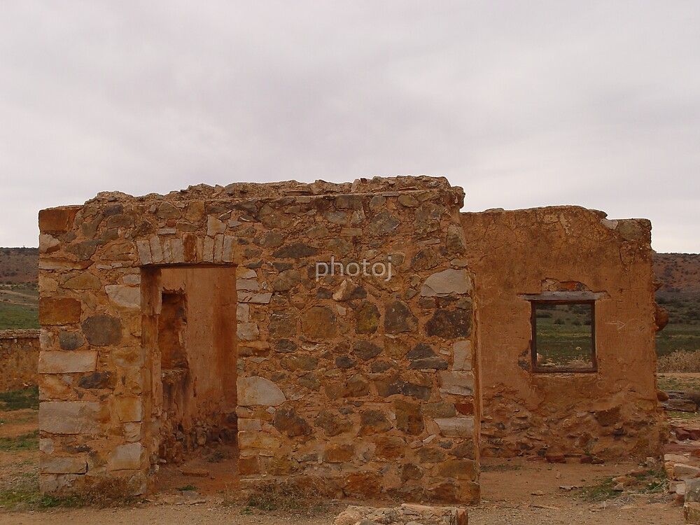 photoj South Australia Flinders Ranges Old Homestead by photoj