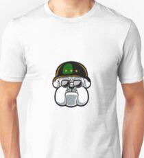 Bulldog Army Mascot Unisex T-Shirt