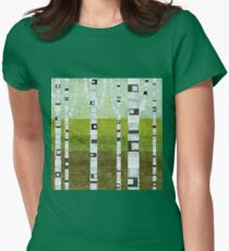 Summer Birches Womens Fitted T-Shirt