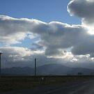 A Lone Highway by dachli