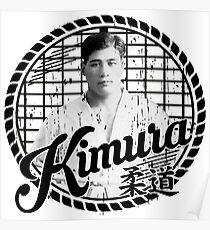 Kimura Judo Poster
