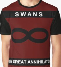Swans - The Great Annihilator (Album Cover) Graphic T-Shirt