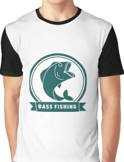 BASS FISHING Graphic T-Shirt