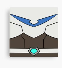 Blue Paladin Canvas Print