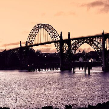 Newport Oregon - Shipping Lanes by IMAGETAKERS
