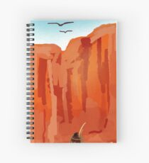 Lady of the Desert Spiral Notebook