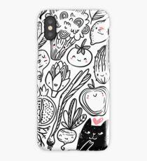 Funny vegetables iPhone Case/Skin