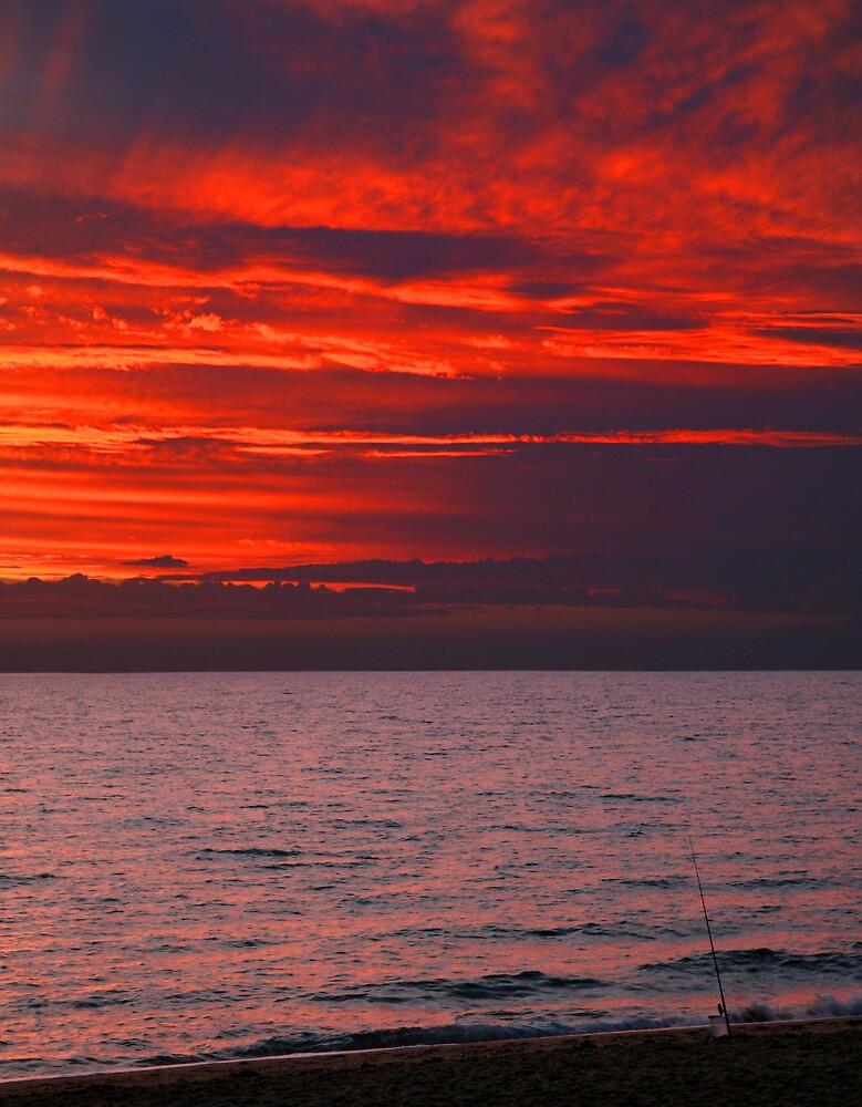 Sunset Fishing by Gavan  Mitchell