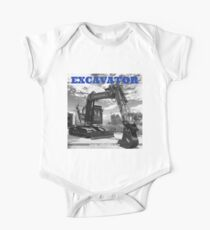 EXCAVATOR Kids Clothes