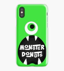 Monster Donut iPhone Case