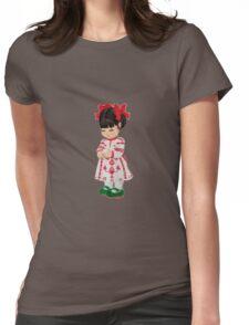 Ukrainian girl Womens Fitted T-Shirt