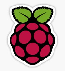 Extra Large Raspberry PI Sticker Sticker