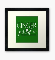 Ginger Pride St. Patricks Day St. Patty Irish Celebration Framed Print